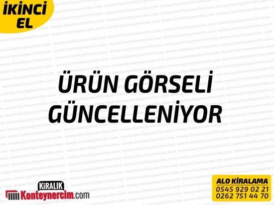 500x110cm Kiralık 5'li DUŞ Kabini - İKİNCİEL