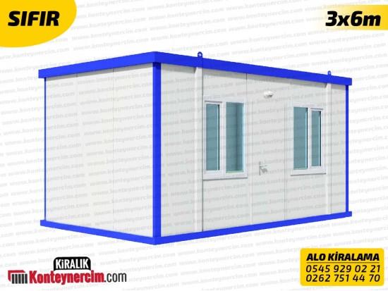 Tek Odalı 3x6m Kiralık Boş Konteyner - İKİNCİEL