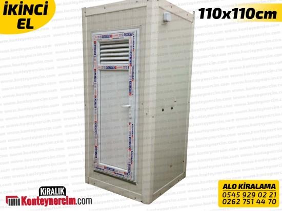 110x110cm Kiralık Tekli DUŞ Kabini - İKİNCİEL
