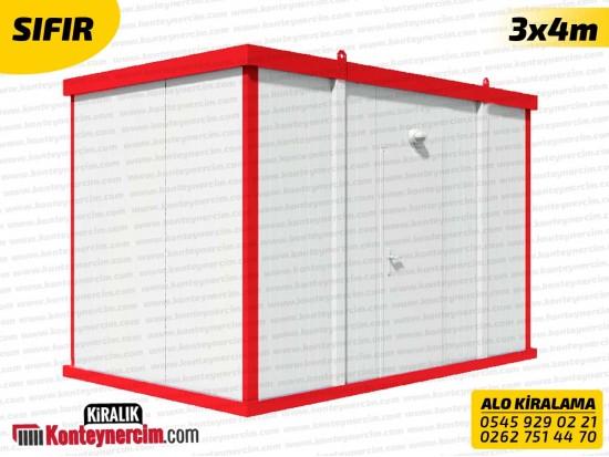 3x4m Koridorlu Kiralık 4'lü WC, Tuvalet Konteyneri - SIFIR